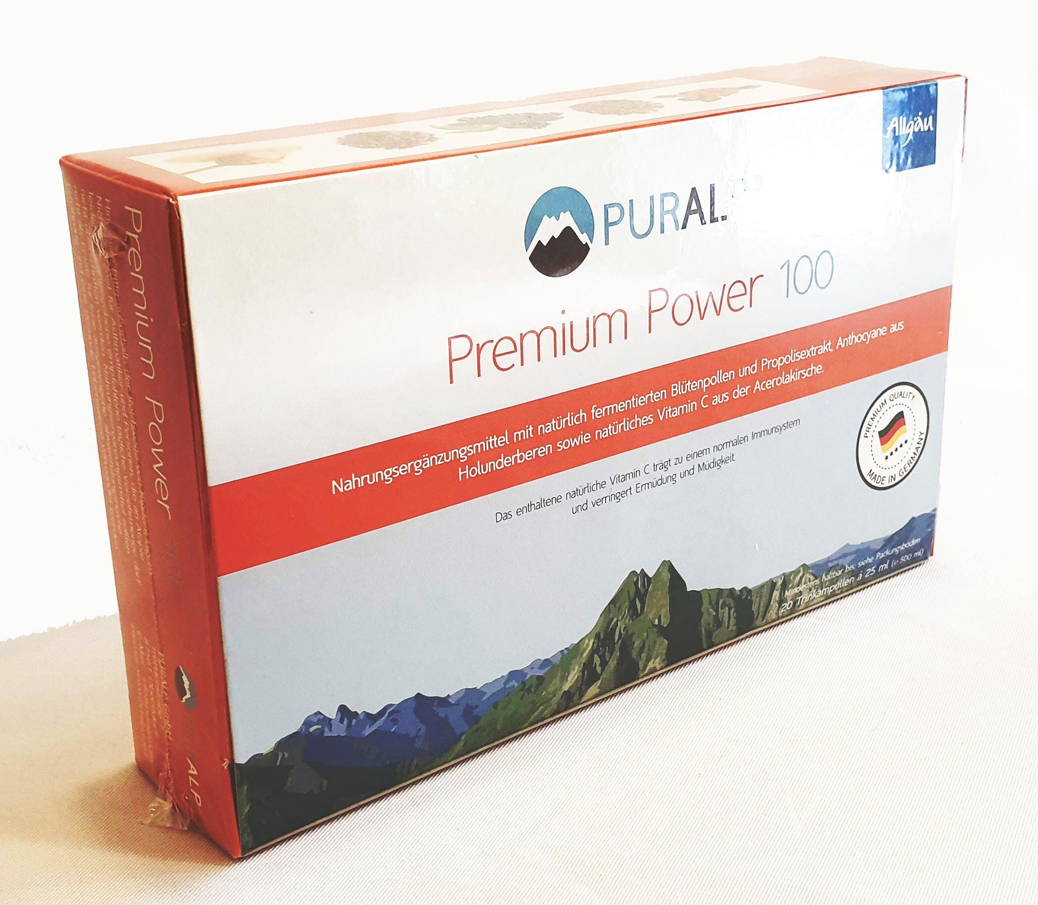 安抗100 濃縮營養素 Premium Power 100 25毫升/20瓶/盒 (德國進口)