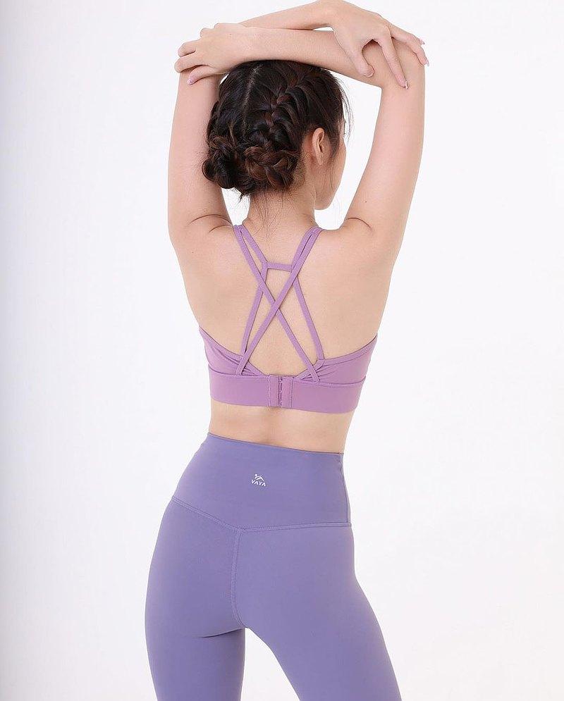 紫色調-運動文胸運動文胸