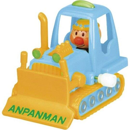 小禮堂 麵包超人 迷你挖土機玩具 發條玩具 塑膠車 洗澡玩具 (3款隨機)