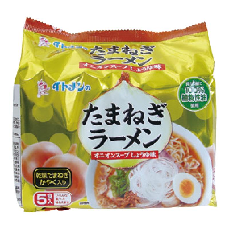 【限量】伊藤洋蔥醬油味拉麵-435g