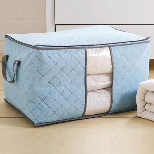 【2個裝】棉被收納袋衣服打包袋裝被子整理袋衣物行李袋搬家袋【樂淘淘】