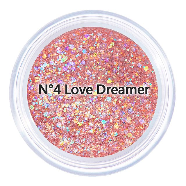 【韓國Unleashia】顏礫星涯-璀璨閃光凝膠眼影 MINI版4g N°4 Love Dreamer