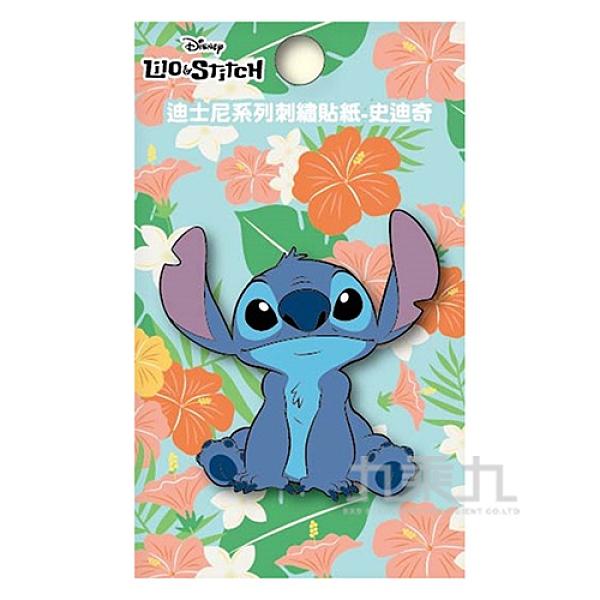 迪士尼系列刺繡貼紙-史迪奇