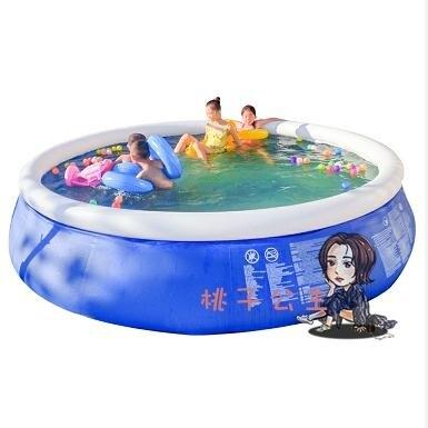 充氣游泳池 超大號成人童小孩家用洗澡池家庭戶外大型加厚