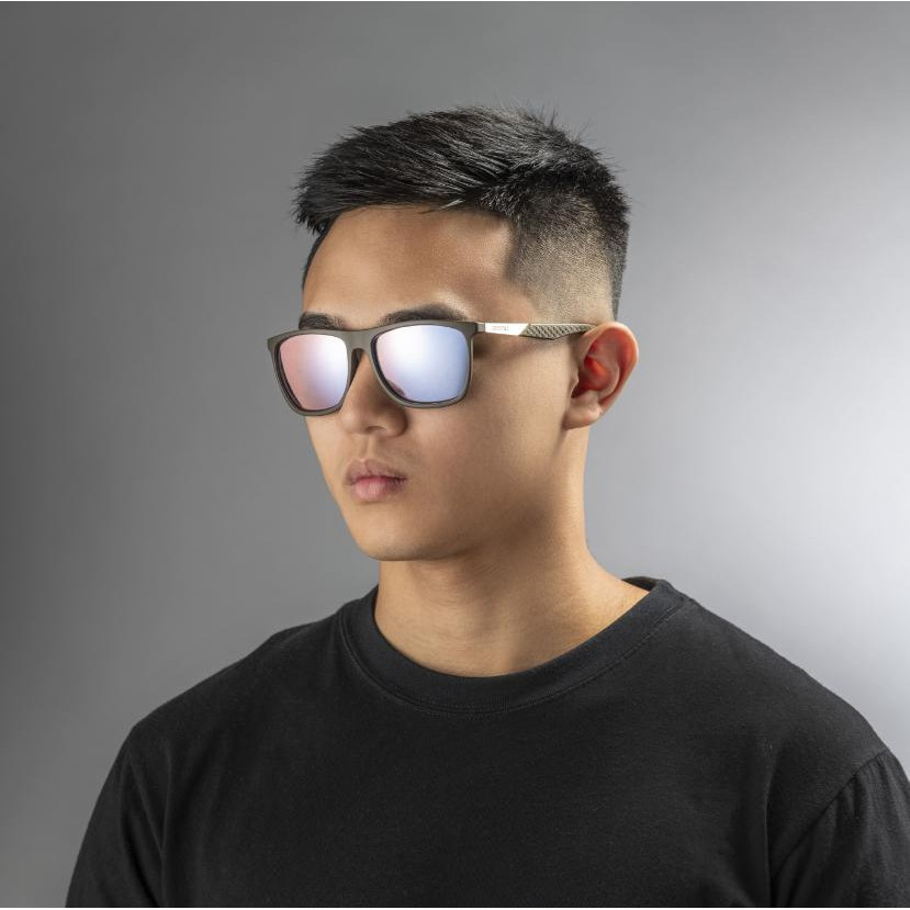 Gentleman Wayfarer 霧面軍綠色鏡框|增艷玻璃偏光太陽眼鏡(7色可選)15A01