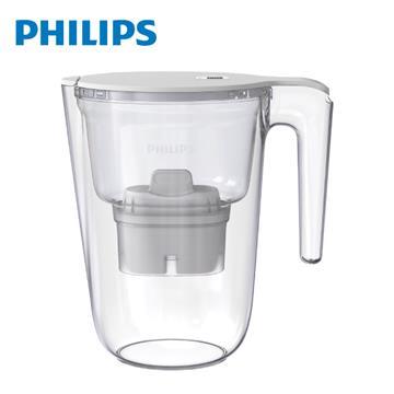 飛利浦Philips 超濾濾水壺帶計時器-3.4L長效版(AWP2941)