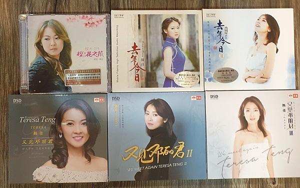 【停看聽音響唱片】【CD】陳佳:樱花之旅+去年今日1、2集+又見鄧麗君 1、2、3集 (6CD)