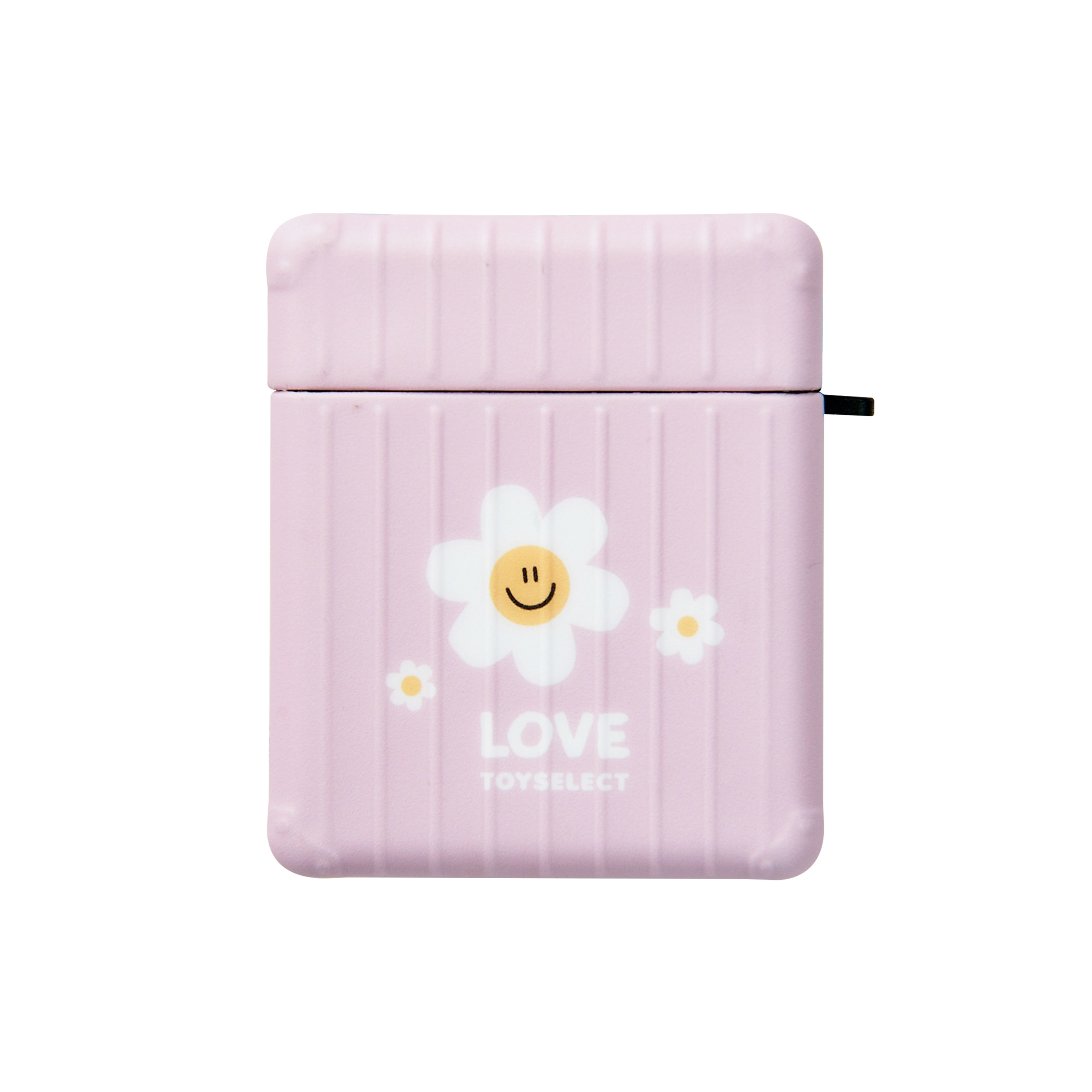 【獨家設計】Smilie溫暖微笑小花防摔行李箱AirPods 1/2 & Pro保護套