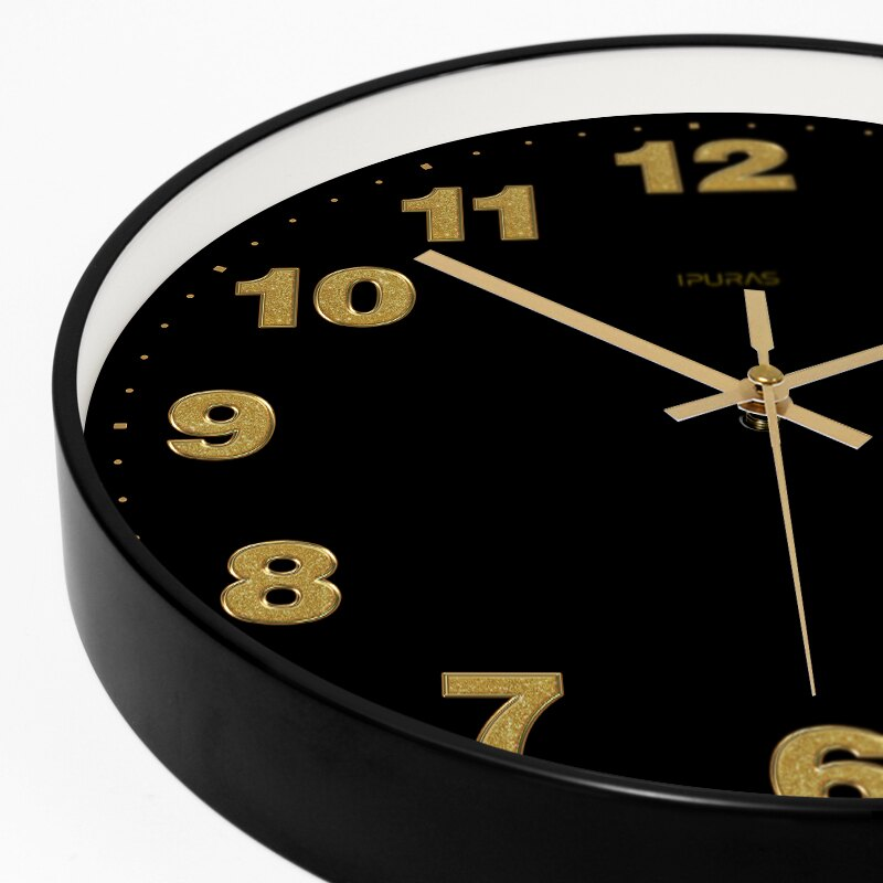掛鐘 【易普拉7046】經典鐘表簡約北歐時鐘掛表現代創意石英鐘掛鐘【DD5378】