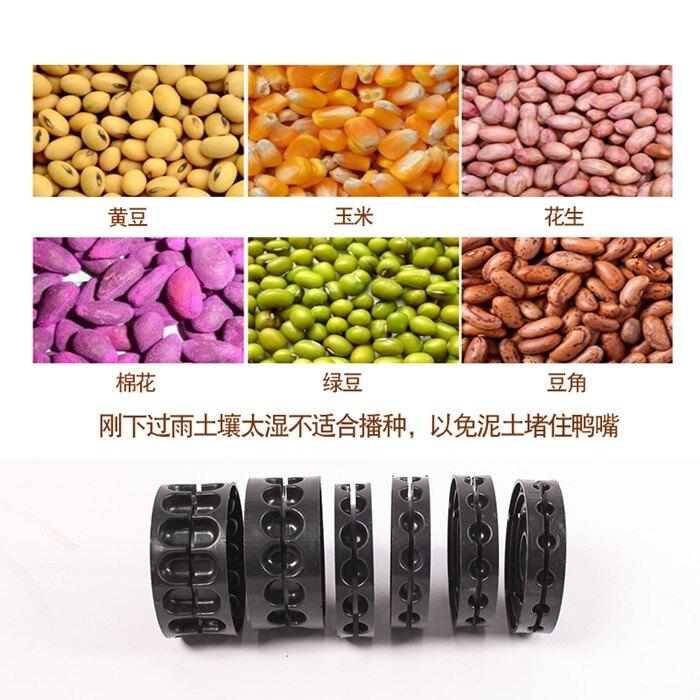 農用手推式玉米播種機新款多功能播種器小型種花生黃豆精播器點播