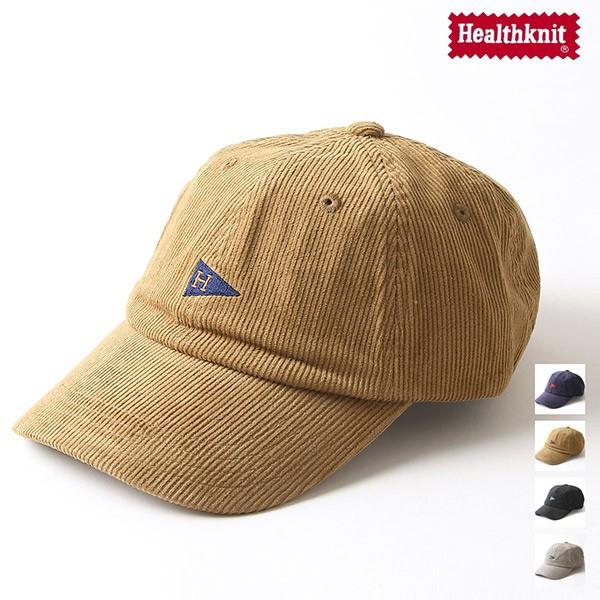 Healthknit 棒球帽 燈芯絨 帽子 4色【291-4097】