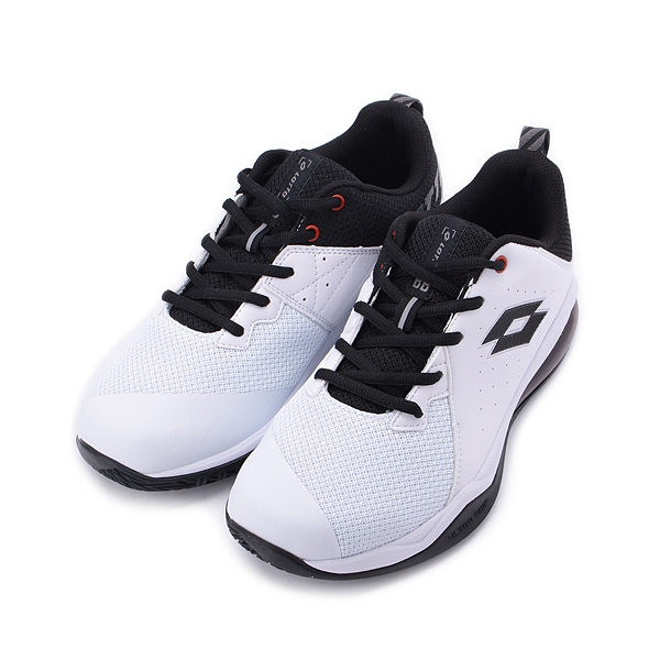 LOTTO FLY POWER 氣墊籃球鞋 白黑 LT9AMB1189 男鞋