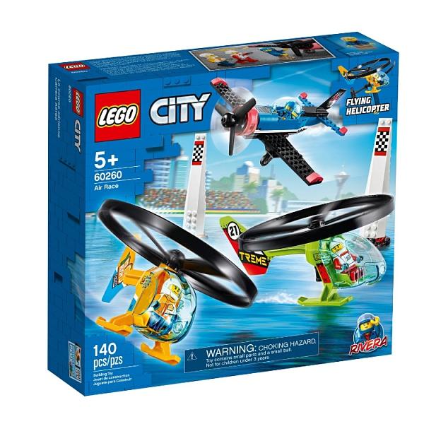 60260【LEGO 樂高積木】城市系列 - 空中競技飛行賽