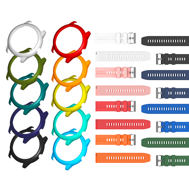 嘿瞜 Haylou Solar 智慧手錶 專用框 百變風格 隨你搭配 保護貼