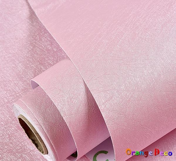 蠶絲自黏壁紙【橘果設計】60*1000公分長 加厚防水桌面家具翻新牆貼壁貼室內設計 裝潢