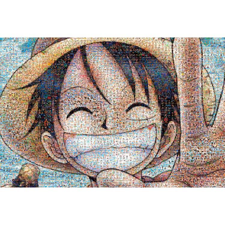 Ensky 馬賽克 魯夫 1000P 拼圖總動員 海賊王 One Piece 航海王 日本進口拼圖