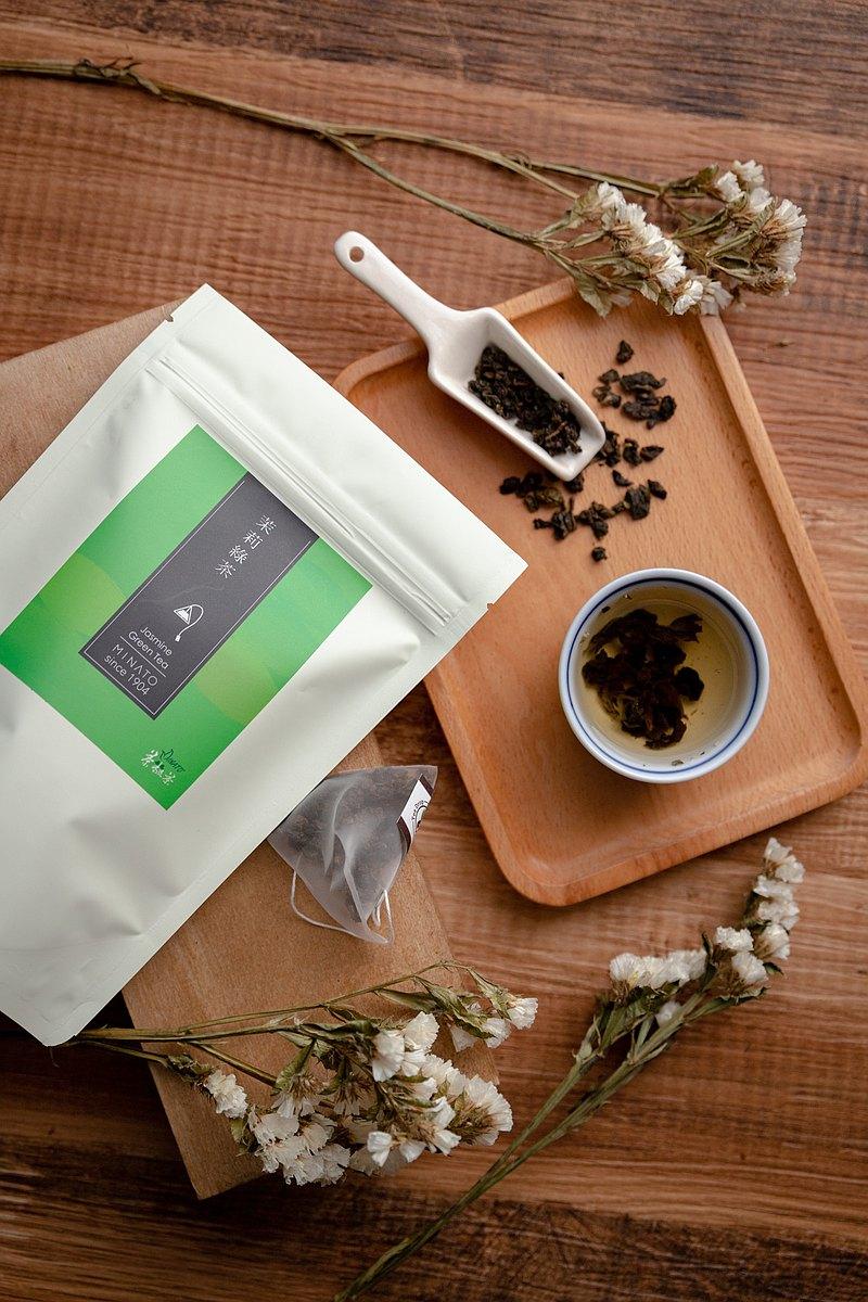 【茶粒茶】茉莉綠茶(10入/袋)  花茶。美容茶