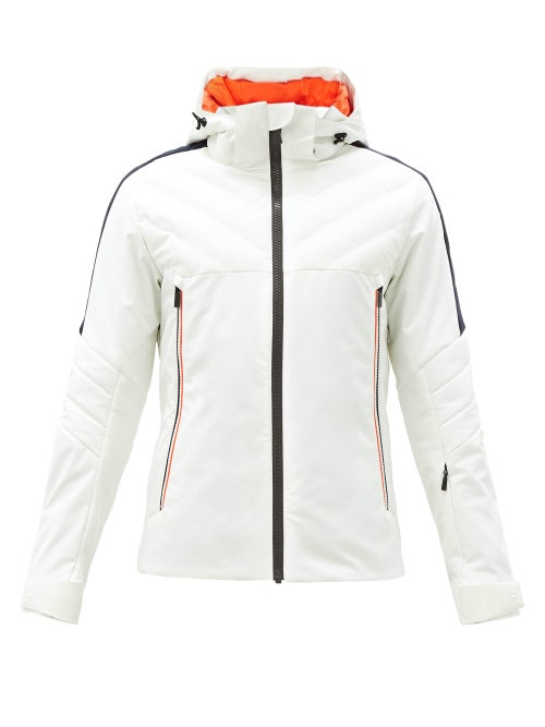 Toni Sailer - Finlay Hooded Soft-shell Ski Jacket - Mens - White