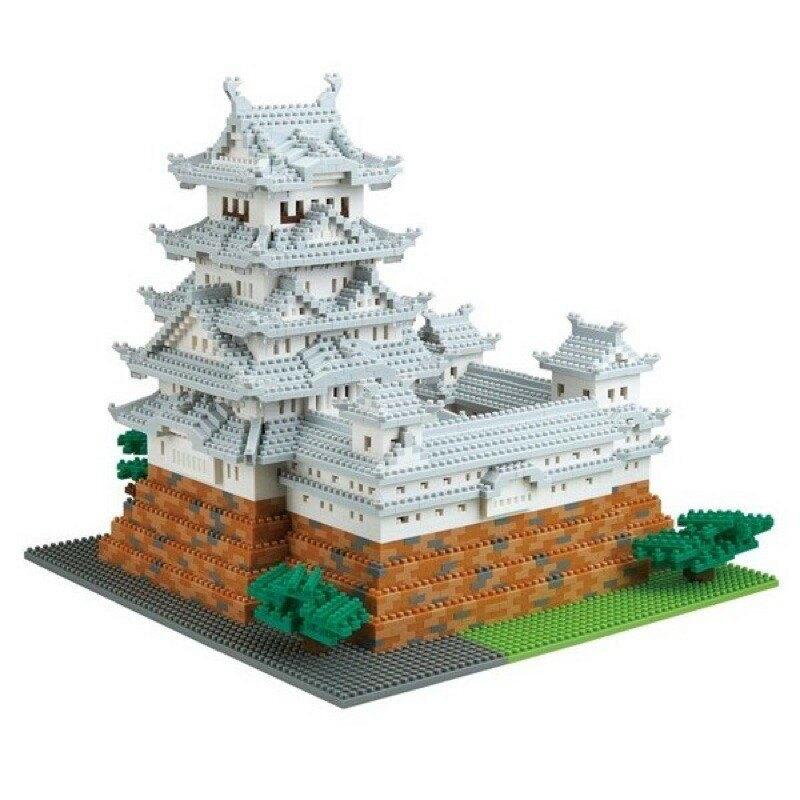 【LETGO】現貨 正版公司貨 Nanoblock 日本河田積木 NB-042 姬路城 DX豪華版 世界建築系列