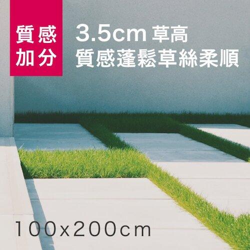 【貝力地板】人工草皮四色高仿真100x200cm(3.5cm草地皮)