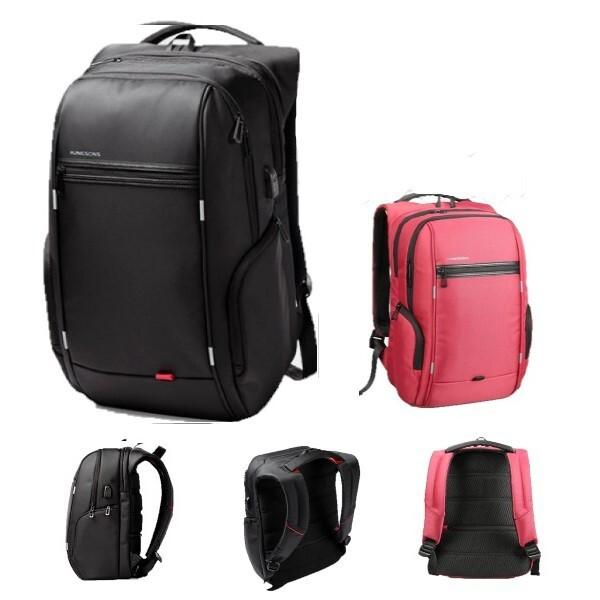 現貨在台防水尼龍 背包 後背包 電腦包 筆電包 雙肩包 肩背包 帆布包 書包 包包 韓國韓版黑色運動