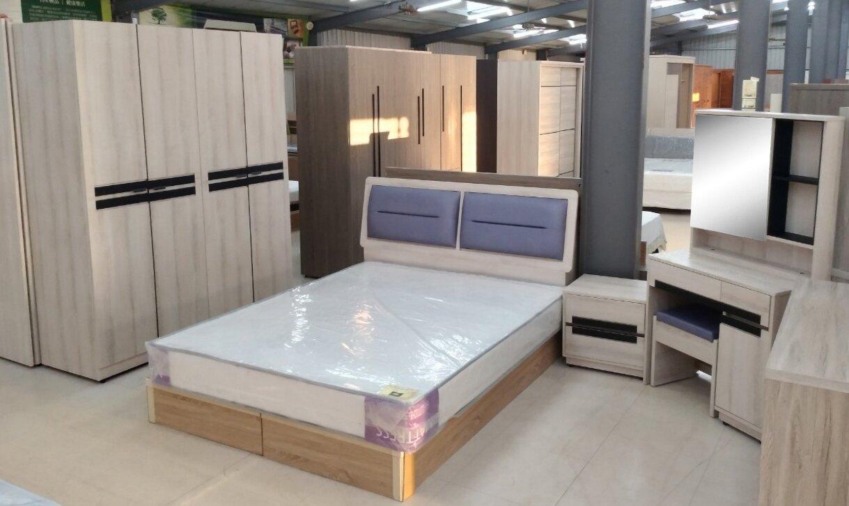【尚品傢俱】779-25 語容 5尺小半套床組