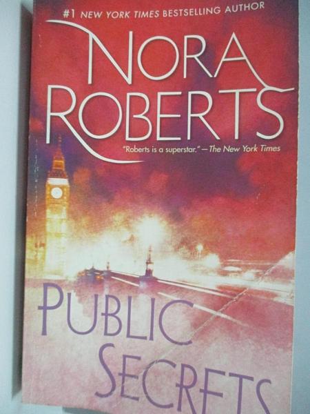 【書寶二手書T4/原文小說_ADT】Public Secrets_Roberts, Nora