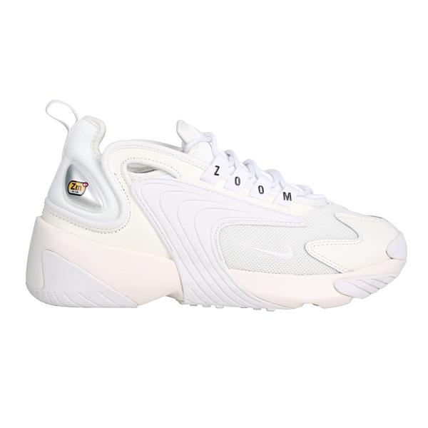NIKE WMNS ZOOM 2K 女休閒運動鞋(免運 老爹鞋 復古 皮革 慢跑≡體院≡ AO0354