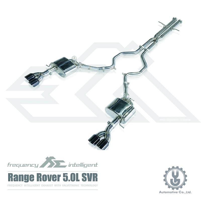 FI 高流量帶三元催化頭段 當派 排氣管 Land Rover Range Rover Sport SVR 底盤【YG】