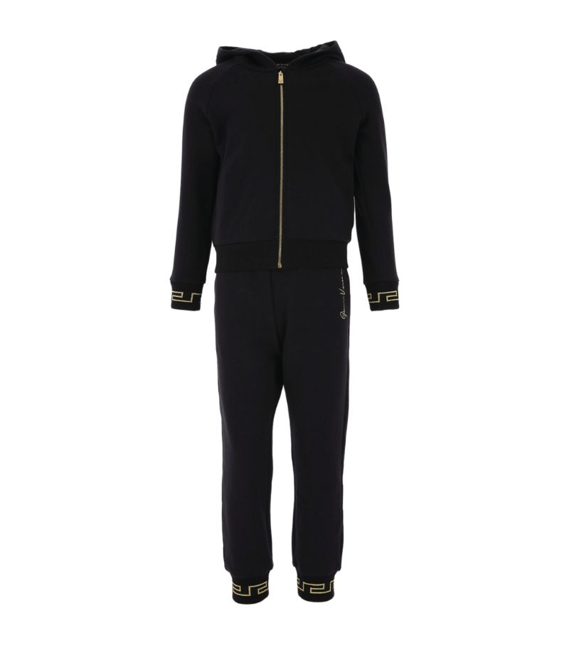 Young Versace Greca-Cuff Gv Signature Tracksuit (4-14 Years)