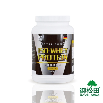 【御松田】分離乳清蛋白-巧克力口味(1000g/瓶)-1瓶