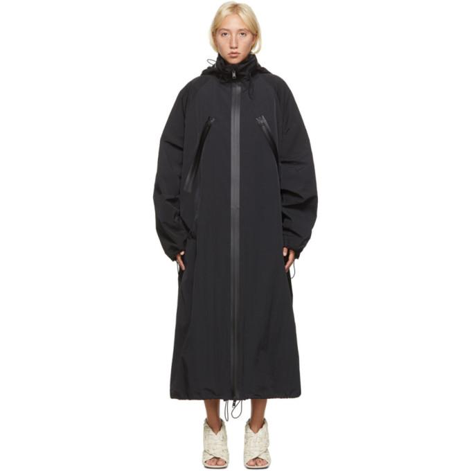 Bottega Veneta 黑色长款大衣