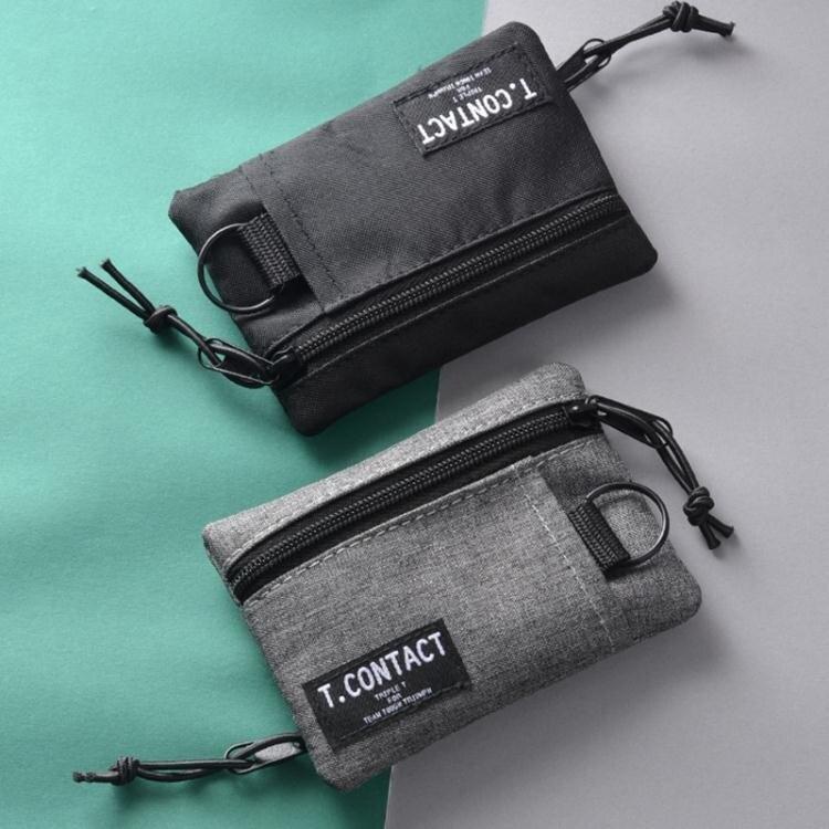 免運 雙色新款簡約零錢包卡包短款個性青年多功能多種使用卡套