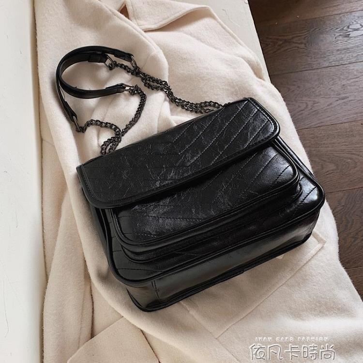 高級感包包洋氣女士包包2020新款潮韓版百搭質感斜挎包時尚單肩包 樂樂百貨