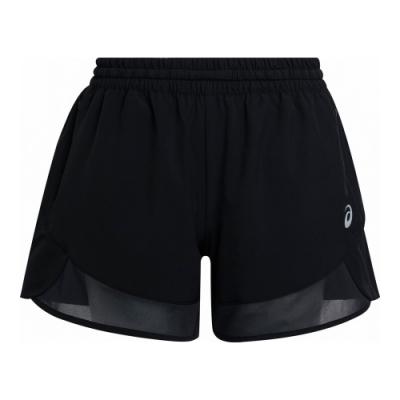 ASICS 女 反光4.5英吋跑步短褲  2012B515-001