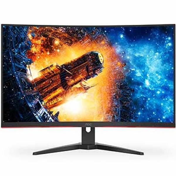 全新 AOC CQ32G2E 31.5'' 曲面螢幕
