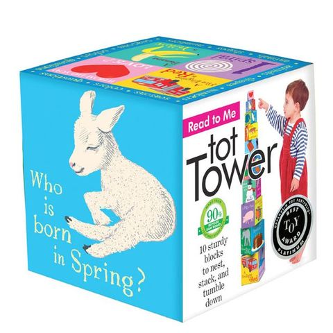 eeboo 疊疊樂-對話練習 Tot Tower Read-To-Me
