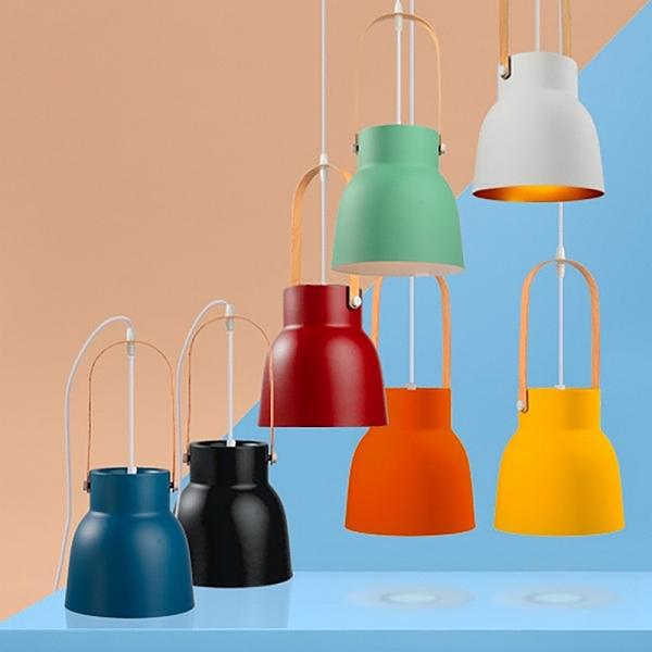 【年前到貨】18PARK 研提吊燈-19cm(黃)含LED-10W黃光燈泡-生活工場