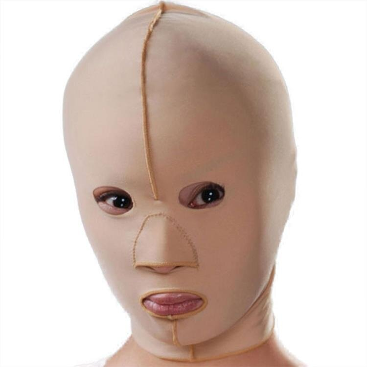 瘦臉繃帶瘦臉面罩瘦臉神器 提升瘦臉小V臉瘦全臉 祛法令紋雙下巴 【】