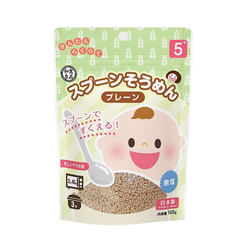 和寓良品-寶寶原味粒粒麵100g 可愛婦嬰