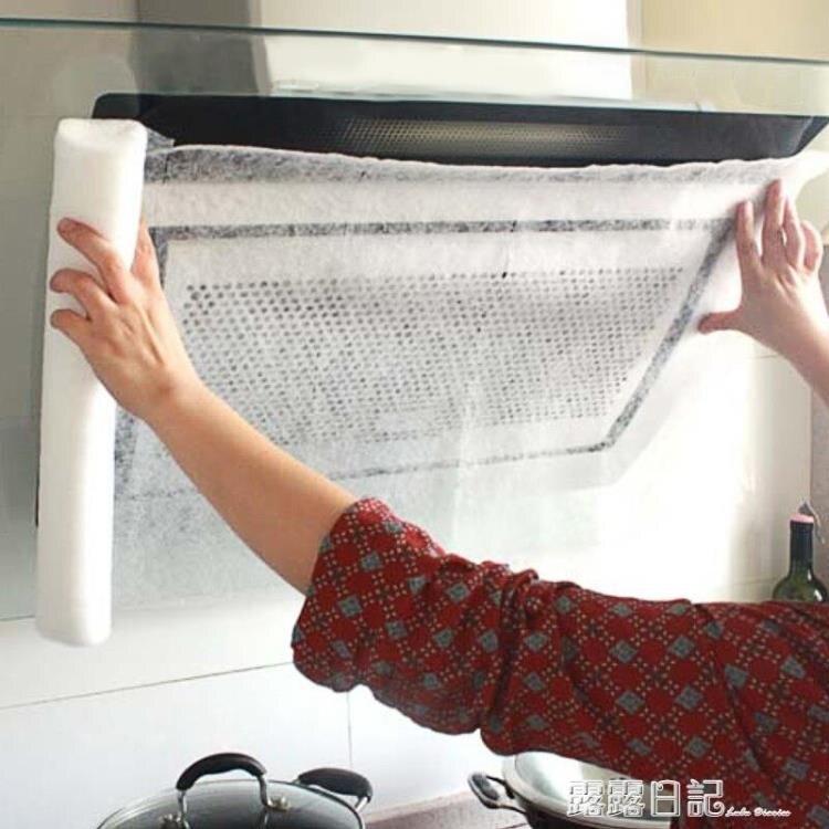 日本進口廚房油煙機吸油紙吸抽油煙機過濾網吸油紙家用牆面防油貼