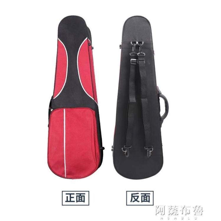 琴盒 飛機托運輕體高強泡沫小中提琴盒箱子包4/4 3/4 1/2 1/4 1/8【99購物節】