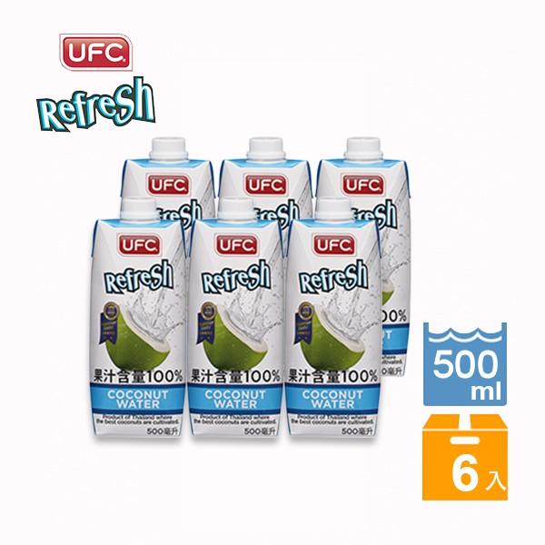 UFC椰子水500ml(6入)