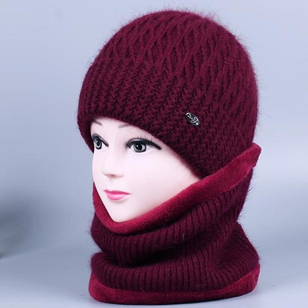 冬季中老年人帽子線帽