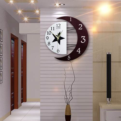 時鐘 鐘表掛鐘客廳個性創意鐘表家用時尚簡約靜音掛表臥室家用石英時鐘