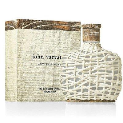 【美妝行】John Varvatos Artisan Pure 工匠純淨 男性淡香水125ml