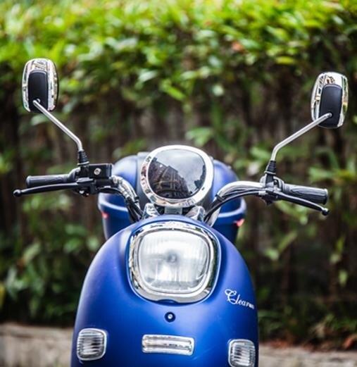 摩托後視鏡 電動車反光鏡電瓶車摩托車後視鏡踏板倒車鏡8mm通用愛瑪雅迪通用年終狂歡大減價!全館限時8.5折