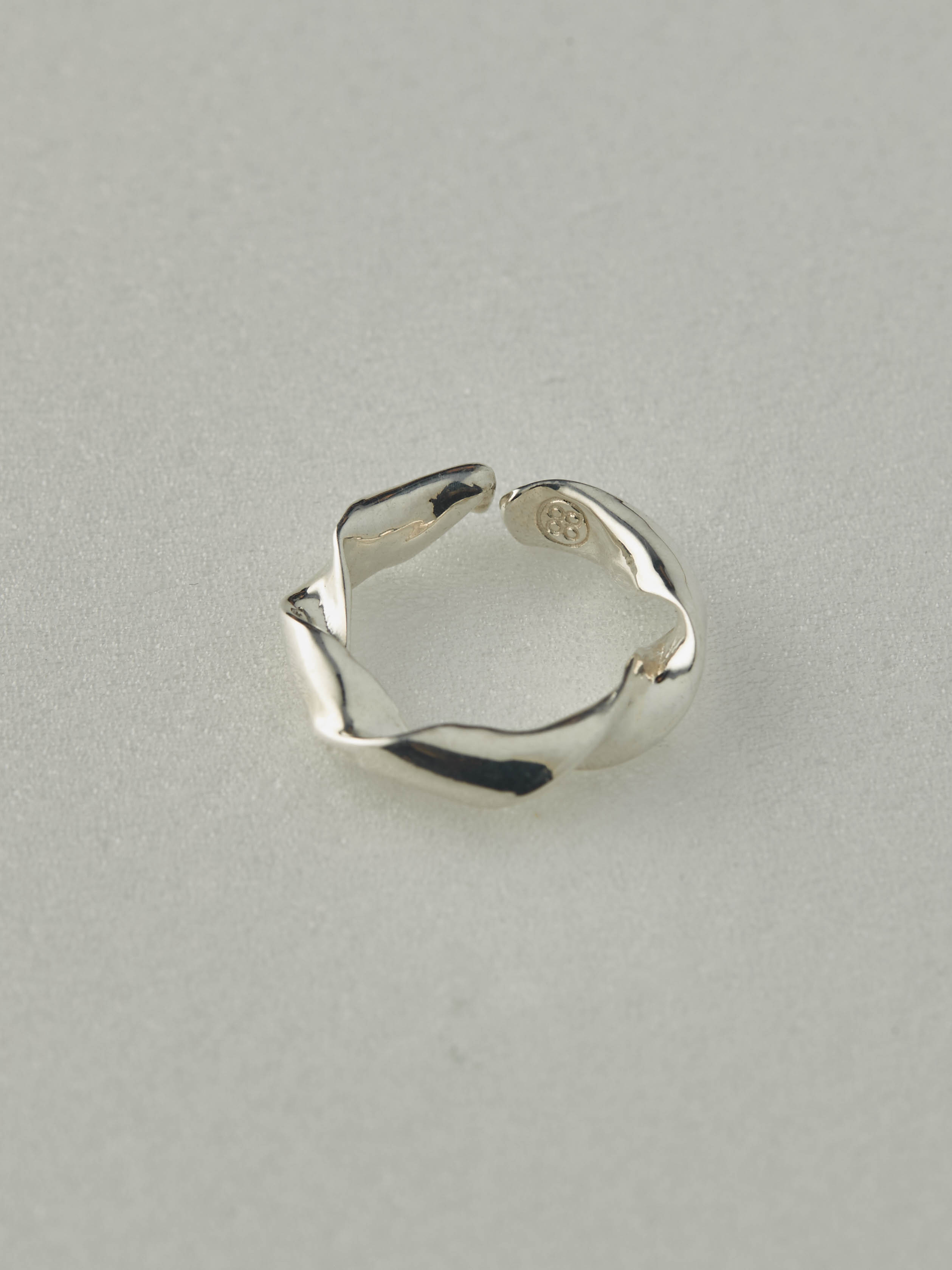 揉花戒指 - 925純銀-mouggan