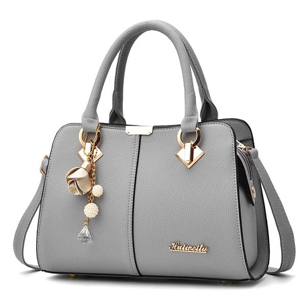 手提包包2020新款潮單肩斜挎包時尚百搭中年女士大容量媽媽包女包『新佰數位屋』