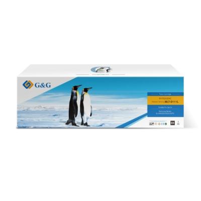 【G&G】for SAMSUNG 2黑組 MLT-D111L 高容量相容碳粉匣 /適用SL-M2020 / M2020W / M2070F / M2070FW